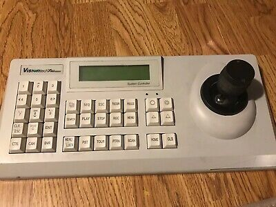 VisiontechPro System Controller Keyboard Model VSCJ1 For Camera Security Use