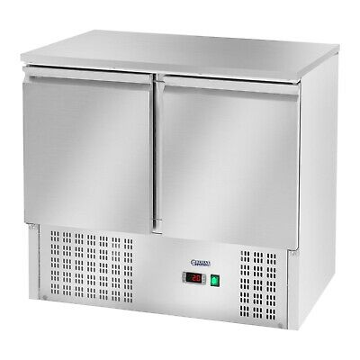 Pizza Cooling Table Saladette Refrigerated Counter Fridge Attachment 240 L 2 D
