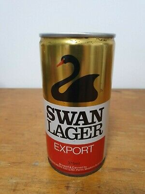 Swan Lager Export 375ml Steel Can - America's Cup Challenge 1983