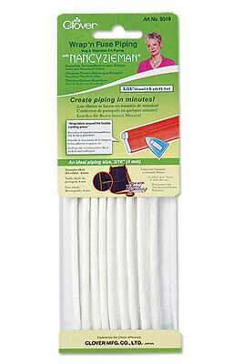 Clover Wrap n Fuse Piping with Fusible Web by Nancy Zeiman 3/16 inch  (6 yards)
