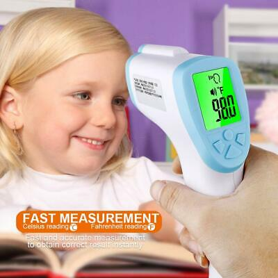 IR Infrared Digital Forehead Fever Thermometer Non-Contact Baby / Adult Body US