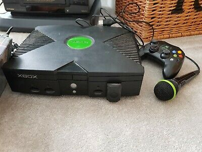 Original xbox plus various games