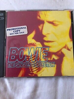 David Bowie - Singles Collection (Promo CD, 1993)