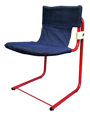 Chair Cantilever of Design Collectibles Years 70 Vintage Modern Antiques Italian