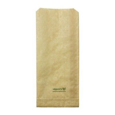 Vegware Compostable Therma Paper Hot Food Bags 292 x 127mm (Pack of 500) - [FC89