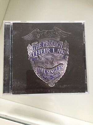 The Prodigy - Their Law - The Singles 1990-2005 CD Album Greatest Hits