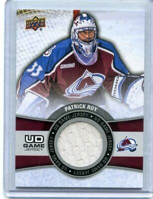 2015-16 UD  Upper Deck   Series 1 Game Jersey  Patrick Roy  Group A
