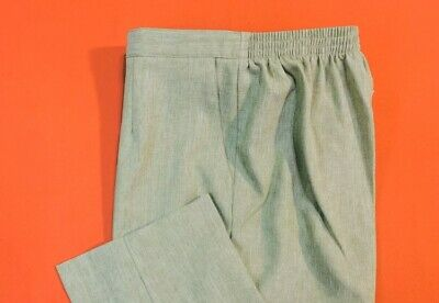 🌷🌷ALFRED  DUNNER ... Pull-On  Pants ... Green ... Plus  Size  18W ... NEW🌷🌷