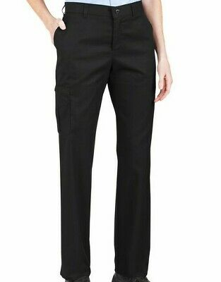 Dickies Women's Premium Relaxed Fit Straight Leg Cargo Pants--12 R--FP223