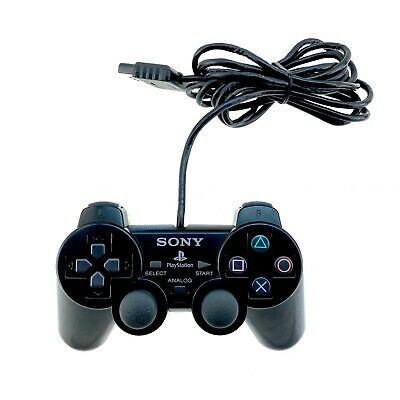 Sony Playstation Ps2 Remote Control Genuine Official Dual Shock 2 Gamepad FWO