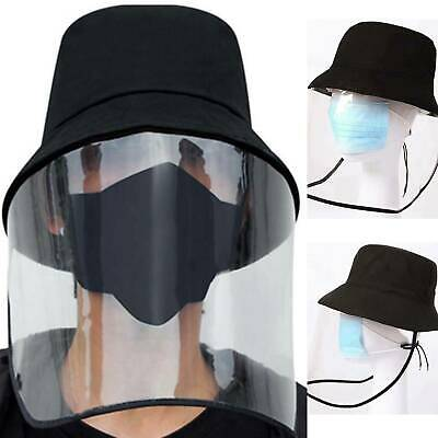 Face Shield Anti-Spitting Protective Cover Saliva-proof Dust-proof Safe Hat USA
