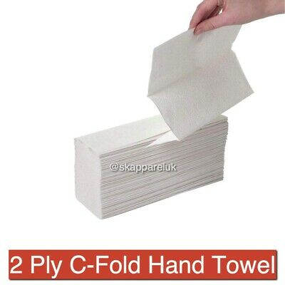 Hand Paper Towels C Fold Tissues Disposable Toilet Bathroom WC School Hospital
