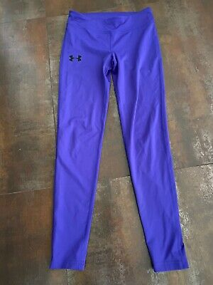 Girls Size 12 Under Armour Leggings Purple
