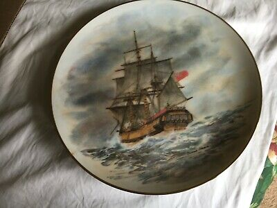 """8 Collectible plates.""""THe Ships THat Made Australia"""" series by Denis Adams"""
