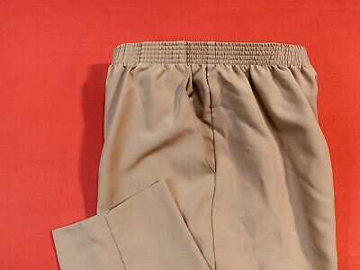 🌷BRIGGS  New  York🌷 Pull On  Polyester  Pants 🌷Beige🌷 Size  12 🌷