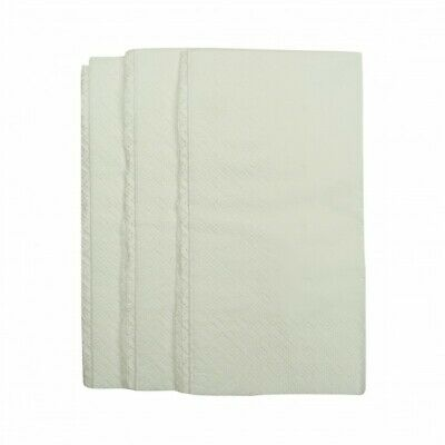 NEW White 1 Ply Paper Napkins - 75mm - 300x300 Unfolded - CARTON(1)