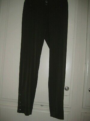 Cache Olive-Army Green Poly & Spandex $98 Pants, Sz 0, New With Tags