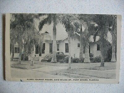 FORT MYERS, FL ~ ALBEE TOURIST HOME on Wilna Street. 1930s