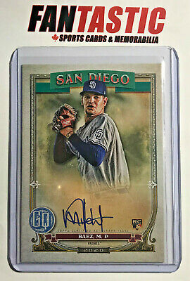2020 Topps Gypsy Queen Rookie Autograph GQA-MB Michel Baez RC Auto Padres