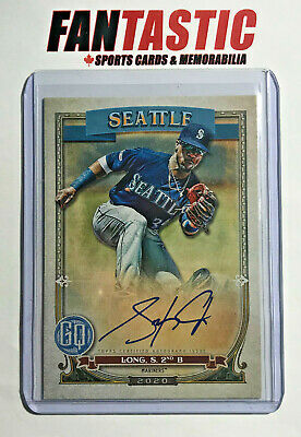 2020 Topps Gypsy Queen Autograph GQA-SL Shed Long Seattle Mariners Auto