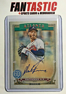2020 Topps Gypsy Queen Autograph GQA-MF Mike Foltynewicz Atlanta Braves Auto