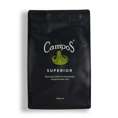 Campos Coffee 1kg Wholebeans Superior recent roasted