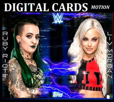 Topps Wwe Slam Card Trader Fractured Friendship Drop 1 Riot & Morgan Motion