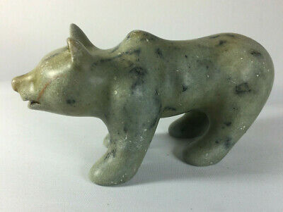 Inuit Art Eskimo Carving Bear Ted Griffiths Signed & Numbered TG 2000 #181 CH