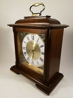Linden Mantle Clock Antique Reproduction Strike Chime Cuckoo Clock