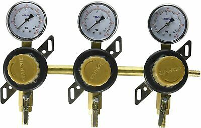 Taprite 3 Way Commercial Grade Secondary Air Regulator Draft Beer Bar