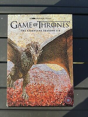 Game Of Thrones Box Set The Complete Seasons 1-6 DVD