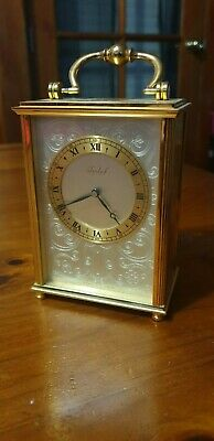 Imhof Vintage 1950'S 8 Days 15 Jewels Swiss Clock (Immaculate Condition)