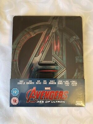 Marvels Avengers Age Of Ultron Bluray Steelbook Mint Condition