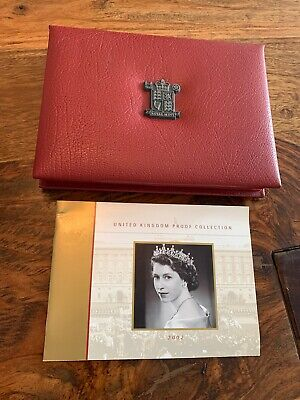 2002 UK Proof Coin Collection with COA - Golden Jubilee - 9 coins