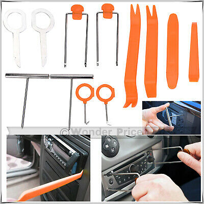 7pcs Auto Car Radio Door Clip Panel Trim Dashboard Removal Opening Tool 、Fad