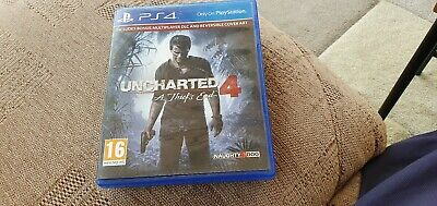 Uncharted 4: A Thief's End Sony PlayStation 4 game - Excellent ps4 game