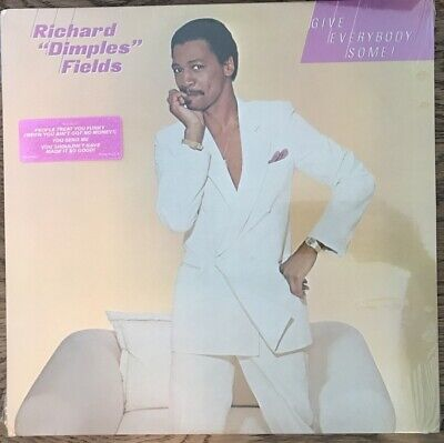 RICHARD DIMPLES FIELDS -GIVE EVERYBODY-LP rare DISCO FUNK;SOUL BOOGIE 1982 SEALD