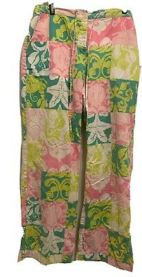 Lilly Pulitzer Pajama/PJ/Lounge Pants/Bottom M  Floral Print