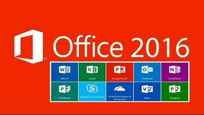 MICROSOFT OFFICE 2016 PROFESSIONAL PLUS 32/64bit License Key ‮