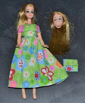 Clone Head Tlc Doll Spring Dress Bag Made To Fit Palitoy Pippa Topper Dawn 6""
