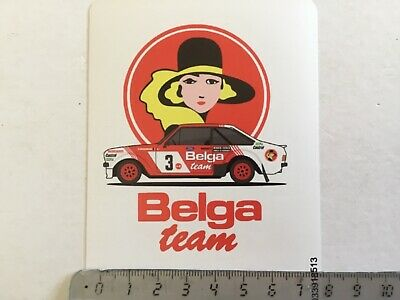"Sticker / Aufkleber, Ford RS1800 ""Belga"" Robert Droogmans"