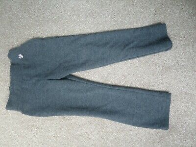 Girls 3-4 grey tracksuit bottoms george used but plenty of life left in them