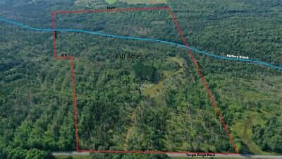 ***Own 109 Acres +/- Of Land In Northern Maine Next To The Canadian Border***