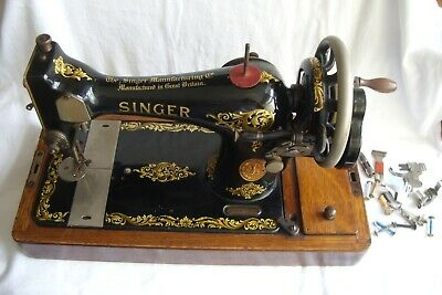 Vintage Portable Manual Singer Sewing Machine Y1547517.