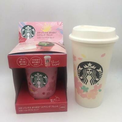 Starbucks Cherry Blossoms 2020 Reusable Cup 2 Origami