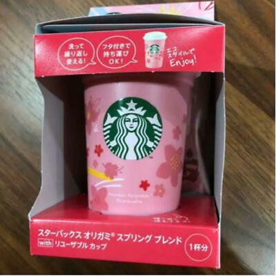 Starbucks Origami Spring Blend Reusable Cup Cherry Blossoms