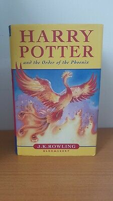 Harry Potter and the Order of the Phoenix Hardback First Edition