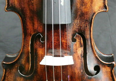 UNIQUE 4/4 ANTIQUE BAROQUE GERMAN STAINER VIOLIN c.19th fiddle 小提琴 ヴァイオリン скрипк