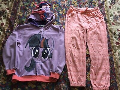 Girls Hoody And Tracksuit Bottoms Age 6-7