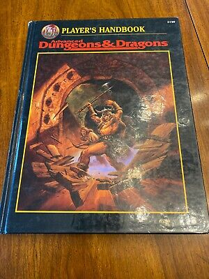 Player's Handbook 2159 Advanced Dungeons & Dragons TSR 1996 2nd Edition AD&D